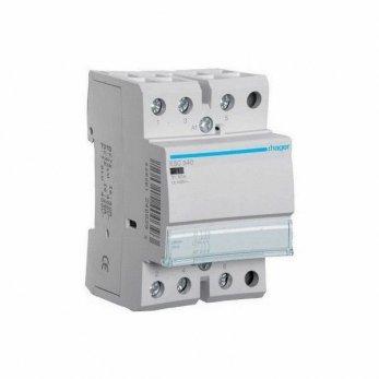 Модульный контактор Hager 380v 40 А